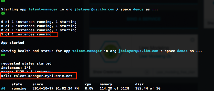 apprunning Building a Java EE app on IBM Bluemix Using Watson and Cloudant
